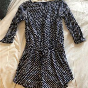 Blue gap dress
